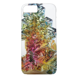 Bismuth faux geode crystal gemstone photo hipster iPhone 8/7 case