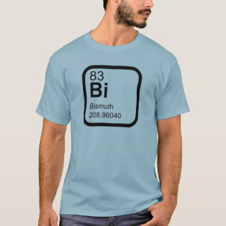 Bismuth - Periodic Table science design T-Shirt