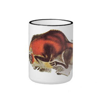 Bison Altamira Caves Coffee Mugs