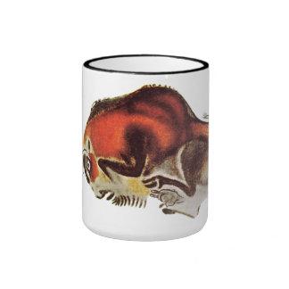 Bison Altamira Caves Coffee Mugs