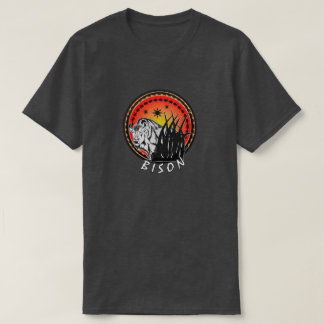 Bison - American Buffalo Sunburst T-Shirt