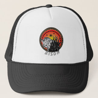 Bison - American Buffalo Sunburst Trucker Hat