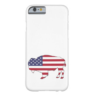 Bison - American Flag Barely There iPhone 6 Case