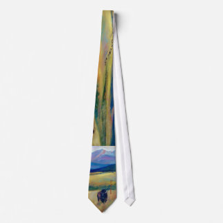 Bison and the Spanish Peaks Tie