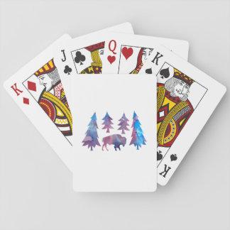 Bison / Buffalo Playing Cards