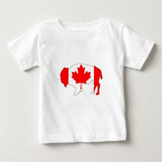 "Bison ""Canada"" Baby T-Shirt"