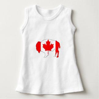 "Bison ""Canada"" Dress"