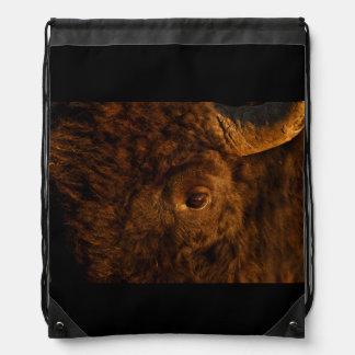 bison face backpacks