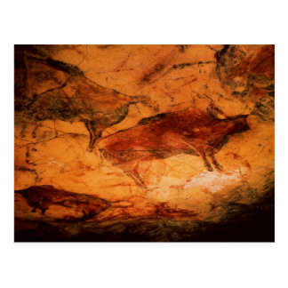 Bison from the Caves at Altimira, c.15000 BC Postcard
