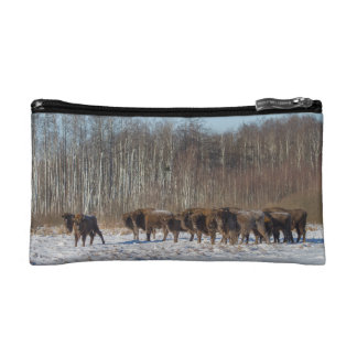 Bison Herd Makeup Bags