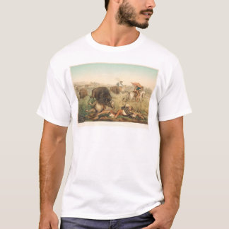 Bison Hunt (0008A) T-Shirt