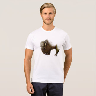Bison In Winter T-Shirt