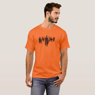 Bison March T-Shirt