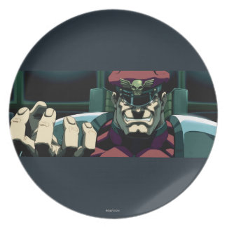 Bison Raised Hand Dinner Plates