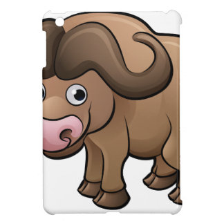 Bison Safari Animals Cartoon Character iPad Mini Cases