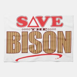 Bison Save Hand Towel