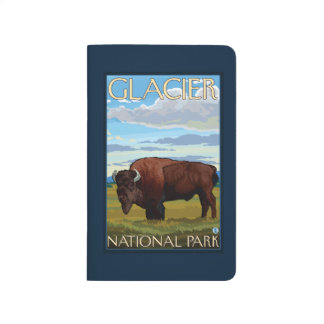 Bison Scene - Glacier National Park, MT Journal