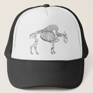 Bison Skeleton Trucker Hat