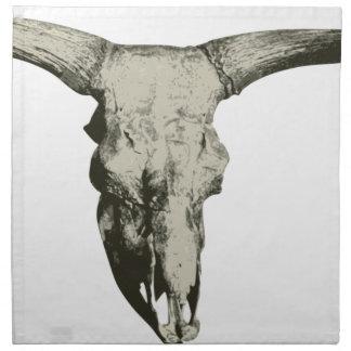Bison Skull Napkin