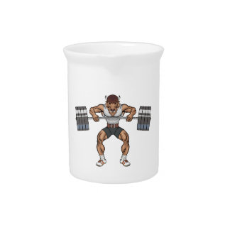 bison weight lifter beverage pitchers