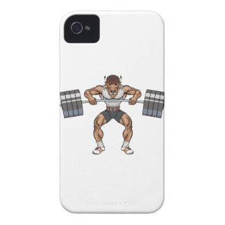bison weight lifter Case-Mate iPhone 4 case