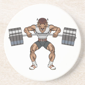 bison weight lifter coaster