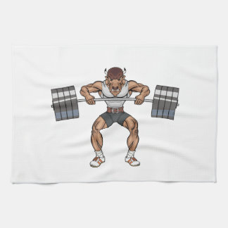 bison weight lifter towel