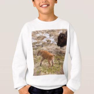 Bisons and calf sweatshirt