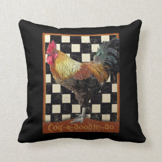 Bisto Rooster Throw Pillow