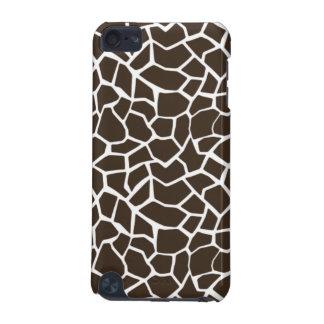 Bistre Brown Giraffe Animal Print iPod Touch (5th Generation) Case