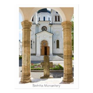 Bistrita Monastery Postcard