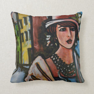 Bistro Collection pillow art
