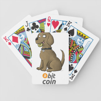 Bit Coin Bicycle Playing Cards