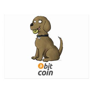 Bit Coin Postcard