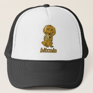 Bit Coin_Retriever_wear Trucker Hat