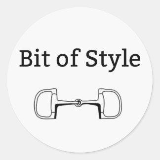 Bit of Style Sticker