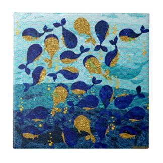 Bit Whales Tile