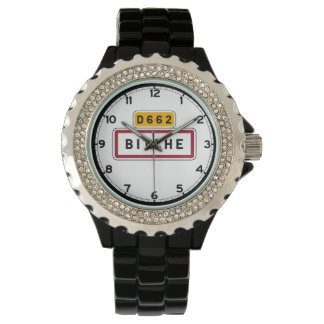 Bitche, Road Sign, France Watches