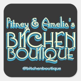 Bitchen Boutique Title Square Stickers (6)