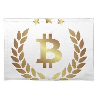 Bitcoin 12 placemat