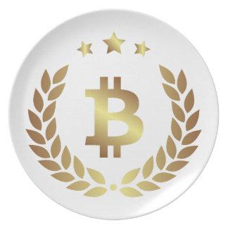 Bitcoin 12 plate