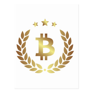 Bitcoin 12 postcard