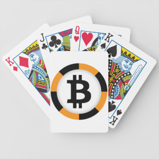 Bitcoin 13 bicycle playing cards