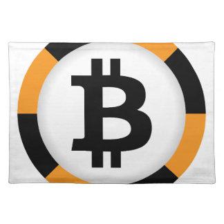 Bitcoin 13 placemat