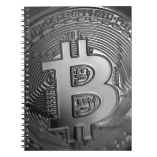 Bitcoin 16 spiral notebook