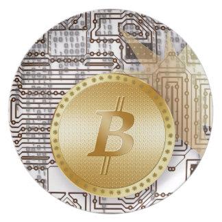 Bitcoin 18 plate