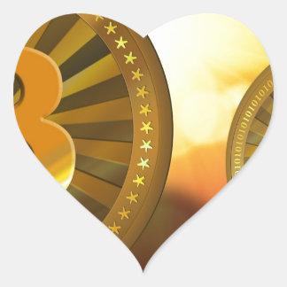 bitcoin-22423 heart sticker