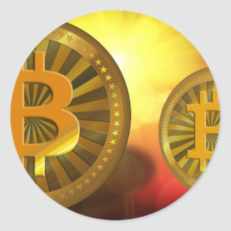 bitcoin-22423 round sticker
