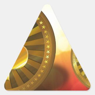 bitcoin-22423 triangle sticker