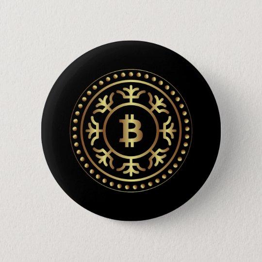 Bitcoin 2 2 inch round button